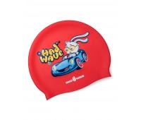 Детская силиконовая шапочка MAD WAVE BUNNY