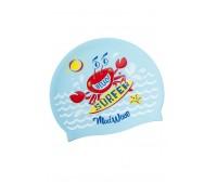 Детская силиконовая шапочка MAD WAVE SURFER